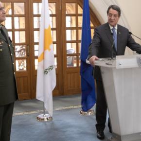 Τελετή διαβεβαίωσης του νέου Α/ΓΕΕΦ Αντιστρατήγου ΔημοκρίτουΖερβάκη