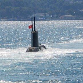 Από το Ιόνιο μέχρι ΝΑ του Καστελόριζου έχει απλωθεί ο τουρκικός υποβρυχιακόςστόλος