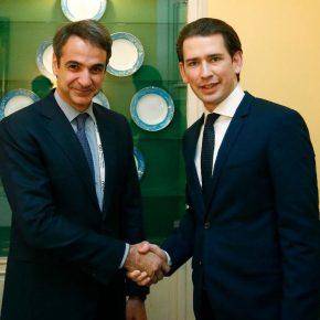 Στήριξη Κουρτς στην Ελλάδα: Δεν θα περάσει ο εκβιασμός του Ερντογάν – Μητσοτάκης: Ασπίδα της ΕΕ ο Έβρος και τοΑιγαίο