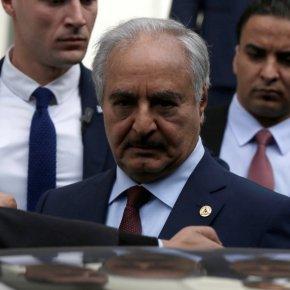 Μέτωπο κατά Τουρκίας από Συρία και Λιβύη: Ο Χ.Χαφτάρ στη Δαμασκό – «Εγκληματίας οΕρντογάν»