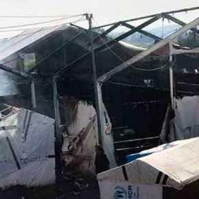 Με καταδρομικές επιθέσεις έκαψαν το Hot Spot της Χίου- Ανοιχτή επιστολή από τουςαστυνομικούς