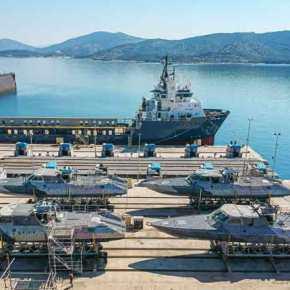 Σκάφη Ανορθόδοξου Πολέμου MK-V έφθασαν στηΔΥΚ