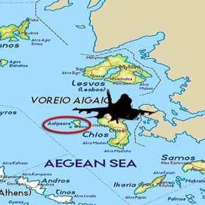 Ψαρά και Αντίψαρα έφθασαν να πετάνε τα τουρκικάμαχητικά