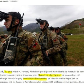 Από την Τουρκία: Εκσυγχρονισμός των ενόπλων δυνάμεων της Αλβανίας με 16,5 εκατ.δολάρια