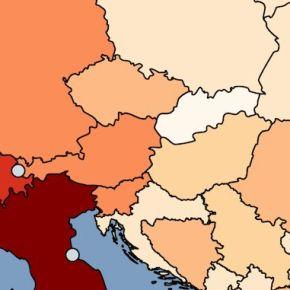 Κορονοϊός: Οι θάνατοι ανά εκατομμύριο κατοίκων στην Ευρώπη. Η θέση τηςΕλλάδας