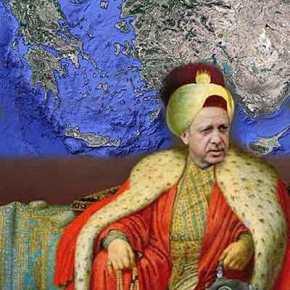 Τα μεγαλεπήβολα σχέδια του Ερντογάν σε Αιγαίο καιΚρήτη