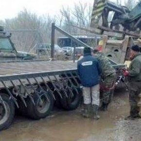 Νέες εργασίες ενίσχυσης της συνοριακής γραμμής στον Έβρο(ΦΩΤΟ)