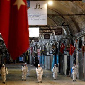 Τέσσερις χιλιάδες νέα κρούσματα σε μία ημέρα ανακοίνωσε ηΤουρκία