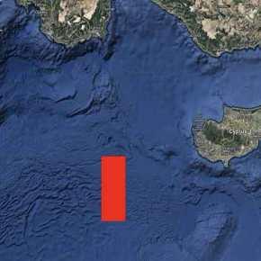 Τουρκική NAVTEX για σεισμικές έρευνες από το Oruc Reis δυτικά τηςΚύπρου