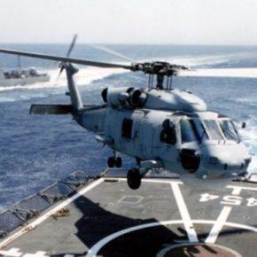 Συνετρίβη στα ανοιχτά της Κεφαλονιάς ελικόπτερο που μετείχε σε άσκηση του ΝΑΤΟ – Τουλάχιστον έναςνεκρός
