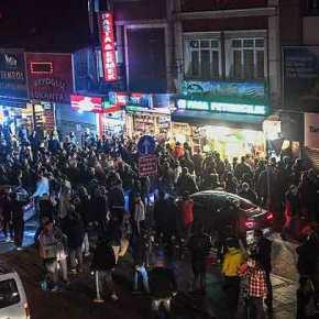 Εικόνες χάους στην Τουρκία μετά την απόφαση για «λουκέτο» στις μεγάλεςπόλεις