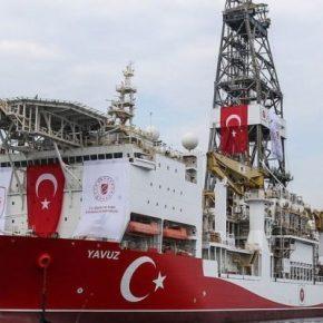 Πλέει ξανά προς την ΑΟΖ της Κύπρου το τουρκικό Yavuz, συνοδείαφρεγάτας