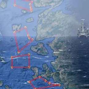Σκηνικό σύγκρουσης: Η Άγκυρα με χάρτες-σοκ απαιτεί αφοπλισμό των νησιών – Βγαίνει στο Αιγαίο ο ΕλληνικόςΣτόλος