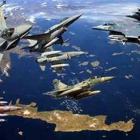 «Κάζο» για την Τουρκία στο Αιγαίο: Κλειδωμένοι από 12 μαχητικά οιΤούρκοι