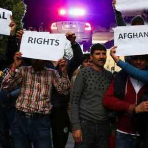 Στη Μαλακάσα: Πετροπόλεμος και Ένταση στη δομή «προσφύγων» μετά τη σύλληψη Αφγανού που «έσπασε» τηνκαραντίνα