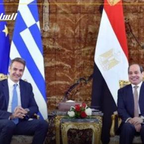 Σίσι και Μητσοτάκης συζήτησαν τις εξελίξεις στηΛιβύη