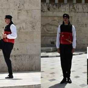 Εβρίτης εύζωνας: «Τίμησα τον τόπο μου, φορώντας την Θρακιώτικη φορεσιά στο Μνημείο του ΆγνωστουΣτρατιώτη»