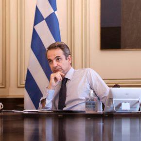 """Μητσοτάκης: Ένταξη Βόρειας Μακεδονίας – Αλβανίας στην ΕΕμε σεβασμό στις δεσμεύσεις τους  .""""Να κάνουν κι άλλοι το καθήκον τους στο προσφυγικό"""" – Ο Πρωθυπουργός συμμετείχε την Τετάρτη στην τηλεδιάσκεψη Κορυφής Ευρωπαϊκής Ένωσης – Δυτικών Βαλκανίων."""