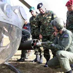 ΣΗΚΩΝΟΝΤΑΙ ΟΙ «ΙΝΔΙΑΝΟΙ» ΣΤΟΝ ΕΒΡΟ… Ετοιμάζεται για εναέριες περιπολίες στον Ποτάμι το «Ιπτάμενο Ιππικό» των OH-58DKiowa