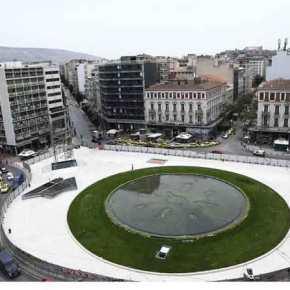 Επίσημο opening σήμερα για την πλατεία Ομονοίας – Φωταγωγείται τοβράδυ