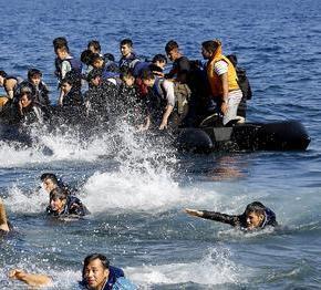 Δύο βάρκες με 67 πρόσφυγες και μετανάστες πέρασαν στηΛέσβο