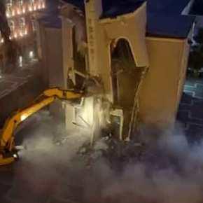 Επεισόδια στα Τίρανα – Ο Ράμα κατεδάφισε το κτίριο του ΕθνικούΘεάτρου