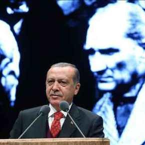 Ο Ερντογάν, ο Μουσταφά Κεμάλ και ηΕλλάδα
