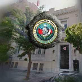 Άντρο κατασκοπείας της ΜΙΤ η τουρκική πρεσβεία στην Αθήνα –Ντοκουμέντα