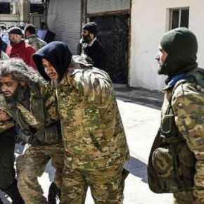 Αλληλοσκοτώνονται Τούρκοι και τζιχαντιστές στη βόρειαΣυρία