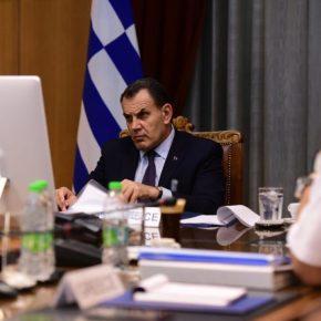 Συμμετοχή ΥΕΘΑ Νικόλαου Παναγιωτόπουλου στη Σύνοδο Υπουργών Άμυνας του ΝΑΤΟ μέσωτηλεδιασκέψεως