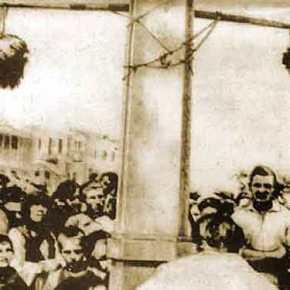 16 Ιουνίου 1945, τιμωρείται ο Βελουχιώτης ο σφαγέας τουΜελιγαλά