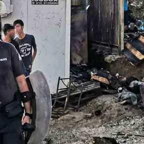 Πυροσβέστες της Χίου: «Δεν πάει άλλο, 2-3 φορές την μέρα σβήνουμε πυρκαγιές σε πολλά σημεία ταυτόχρονα πέριξ του καταυλισμού»…