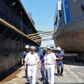 Επίσκεψη του Α/ΓΕΝ Στέλιου Πετράκη στον Ναύσταθμο της Κρήτης(ΦΩΤΟ)