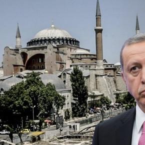 Ερντογάν για Αγιά Σοφιά: Δεν θα πάρουμε την άδειά σας για να γίνειτζαμί