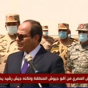 Σίσι από αεροπορική βάση κοντά στη Λιβύη: Να είμαστε έτοιμοι για προστασία της Αιγύπτου ακόμη και εκτόςσυνόρων!