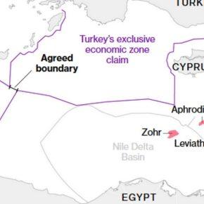 Bloomberg: Η Τουρκία επεκτείνει την εξερεύνηση για πετρέλαιο και φυσικό αέριο σε αμφισβητούμενανερά