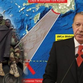 Αιγύπτιος στρατηγός ξεσκεπάζει το σχέδιο για τις τουρκικές βάσεις στηΛιβύη