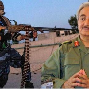 «Για την κατάληψη της Σύρτης στη Λιβύη πρέπει να εξουδετερωθούν οι αεροπορικές δυνάμεις τουΧαφτάρ»