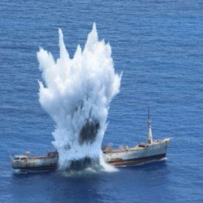 Επιχειρησιακή Εκπαίδευση Μονάδων του Πολεμικού Ναυτικού και της Πολεμικής Αεροπορίας με πραγματικάπυρά