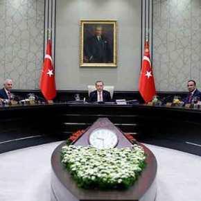 """Συμβούλιο Εθνικής Ασφάλειας στην Τουρκία: """"Δεν θα υποχωρήσουμε στις έρευνες και στιςγεωτρήσεις"""""""