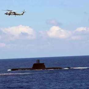 Το μήνυμα «παρελήφθη»: Πρώτη φορά άσκηση των Ενόπλων Δυνάμεων στα θαλάσσια οικόπεδα του παράνομουμνημονίου