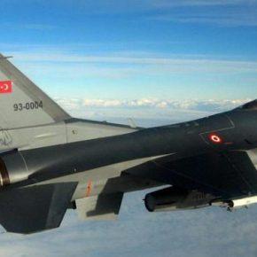 Τουρκικά F-16 πάνω απο τη Χίο Είναι παραβίαση εθνικήςκυριαρχίας;