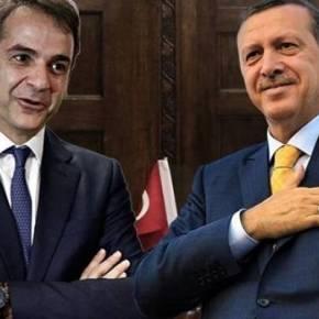 Τηλεφωνική επικοινωνία Μητσοτάκη-Ερντογάν