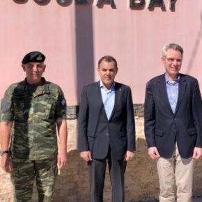 Πάιατ: Η βάση της Σούδας αποτελεί την αιχμή του δόρατος της αμυντικής συνεργασίας Ελλάδας και ΗΠΑ(pics)