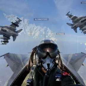 Οινούσσες και Παναγιά οι Τούρκοι με οπλισμένα F-16! 328 υπερπτήσεις από την αρχή τουχρόνου