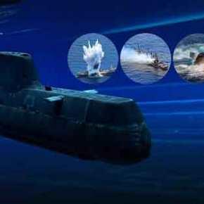 Υποβρύχιο Type 214 του ΠΝ βύθισε πλοίο σε άσκηση στα όρια της ελληνικής υφαλοκρηπίδας(φωτό)