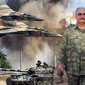 Καταστροφή για την Άγκυρα: Ισοπεδώθηκε τουρκικό κέντρο επιχειρήσεων από μαχητικά τουΧαφτάρ