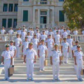 Απονομή Πτυχίων Αποφοιτησάντων Σχολής Ναυτικών Δοκίμων έτους2020