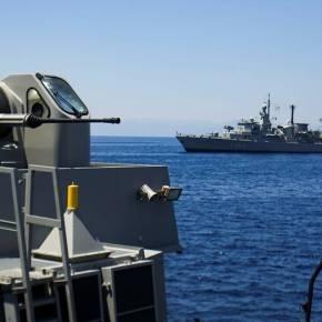 «Ασπίδα» στην ανατολική Μεσόγειο: Nαυτική συνεργασία Ελλάδας, Κύπρου, Γαλλίας,Ιταλίας