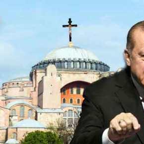 Σοκ από Τούρκους για Αγία Σοφία: »Σύντομα θα ακουστεί το ΑλλάχΑκμπάρ!»
